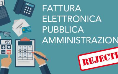 Decreto 24 agosto 2020, n. 132 – Fattura elettronica, i casi di rifiuto della PA